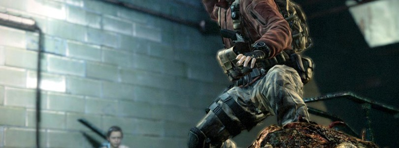 Resident Evil Revelations 2 Barry Burton