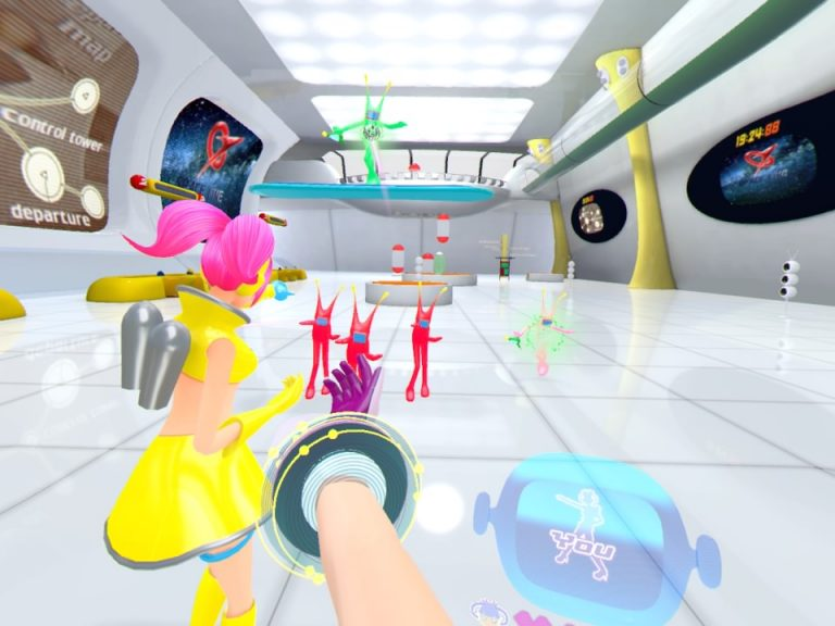 Space Channel 5 VR Kinda Funky News Flash! review pic001