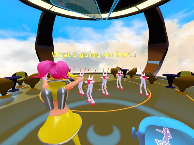 Space Channel 5 VR Kinda Funky News Flash! review pic003