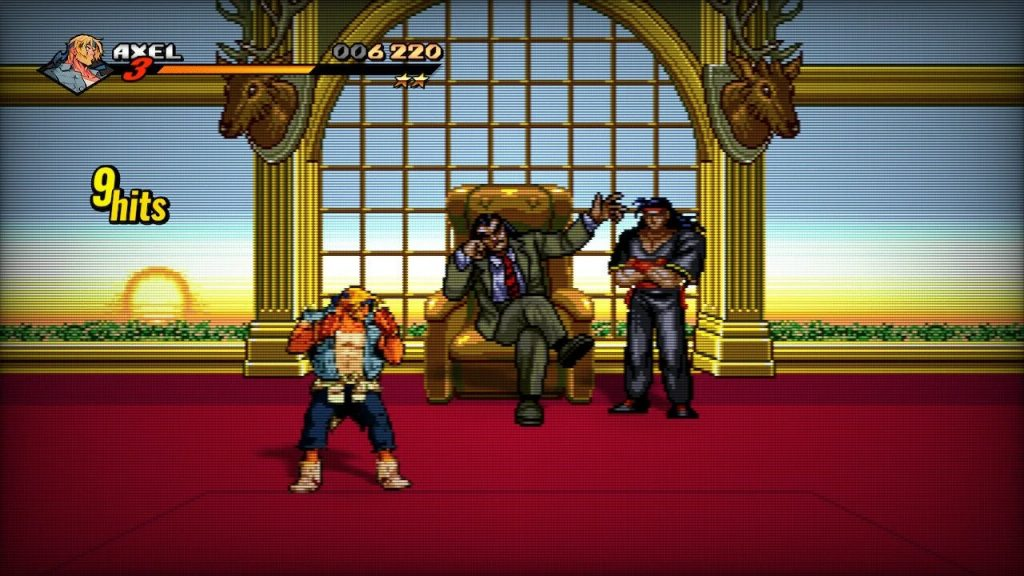 streets of rage 4 retro bosses