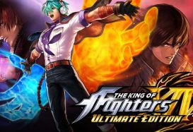 the king of fighters xiv: ultimate edition rev main slide