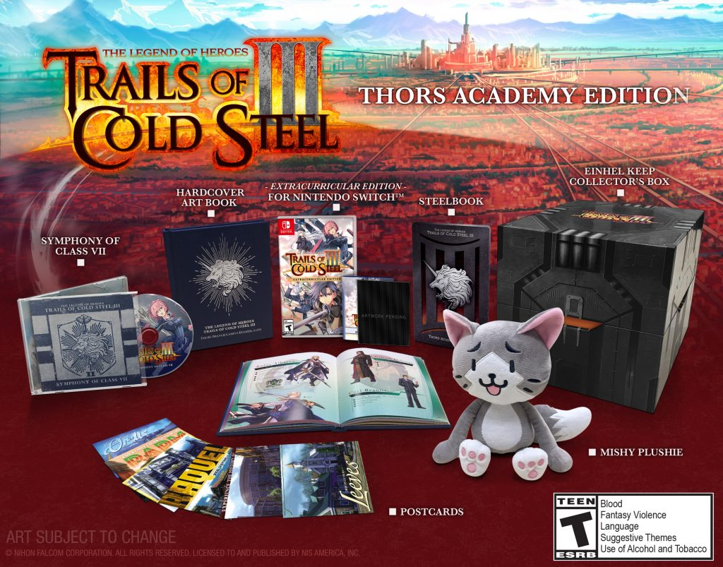 Trails of Cold Steel III switch announce pic001