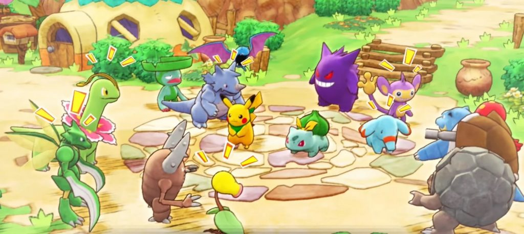 Pokémon Mystery Dungeon Rescue Team DX pic001
