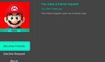 Nintendo Switch - Friend Code