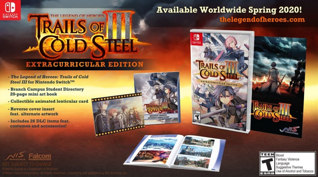 trails of cold steel iii switch