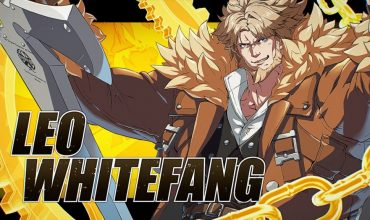guilty gear -strive- leo whitefang