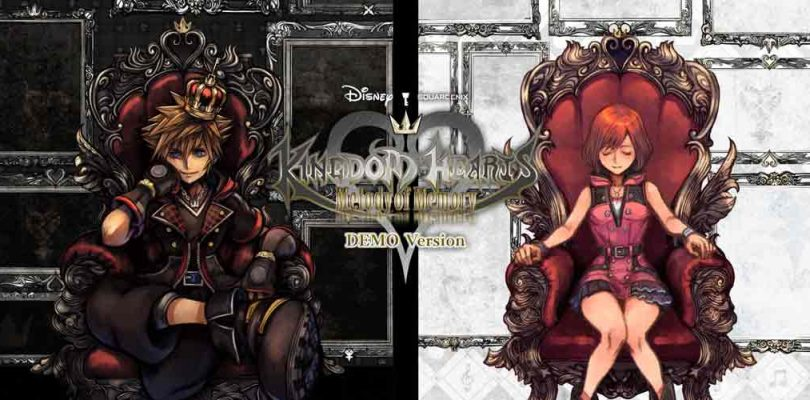 Ya está disponible el demo de Kingdom Hearts Melody of Memory