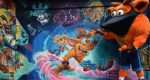 Crash Bandicoot inaugura el grafiti de Crash Bandicoot 4: It's About Time