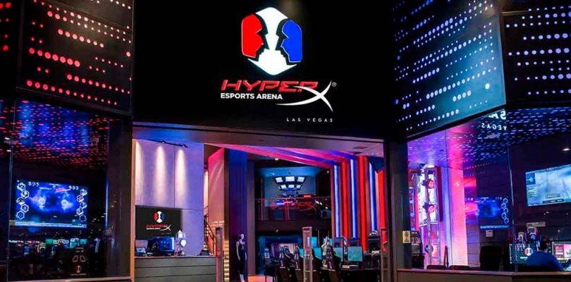 HyperX y Allied Esports renuevan el acuerdo de derechos de nombres para HyperX Esports Arena Las Vegas
