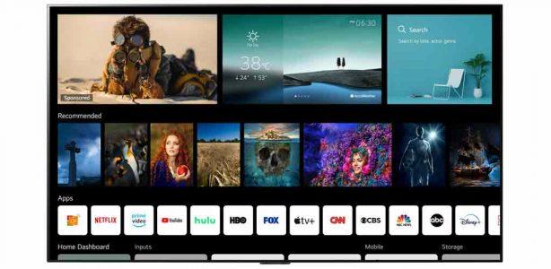 Plataforma de Smart TV de LG Webos 6.0 diseñada para los espectadores que consumen contenido hoy en día