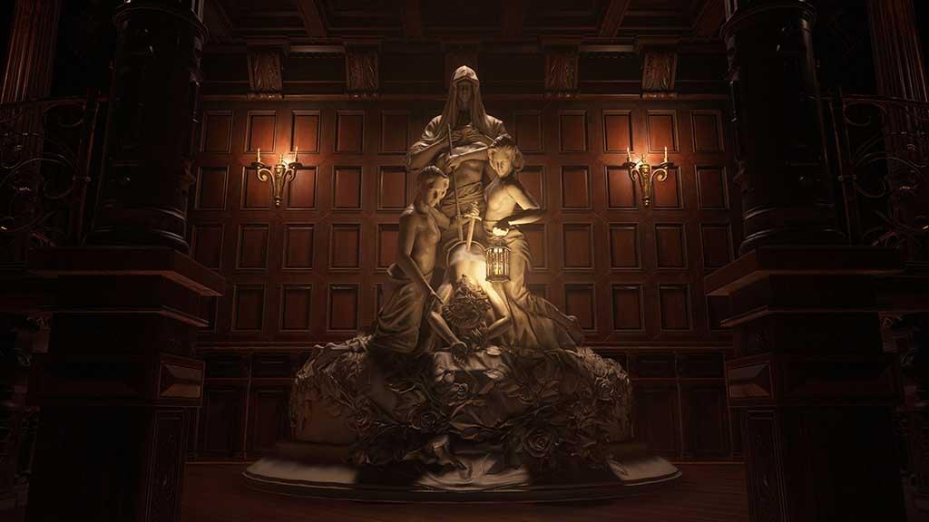 Resident Evil Village statue