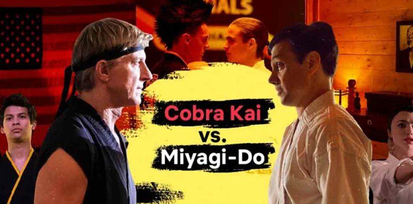 Cobra Kai o Miyagi-Do: ¿Cuál es tu estilo a la hora de maratonear?