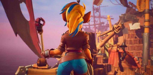 Crash Bandicoot 4: Artista revela un look alternativo para Tawna