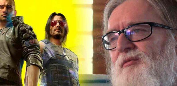 Gabe Newell se siente triste por CD Projekt y el problemático lanzamiento de Cyberpunk 2077
