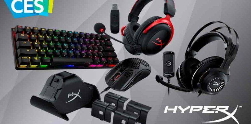 En el marco del CES 2021 HyperX presentó nuevos productos para Consola y PC