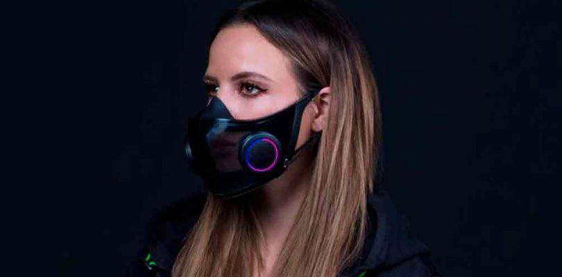 Sí, la nueva máscara facial de Razer tiene RGB