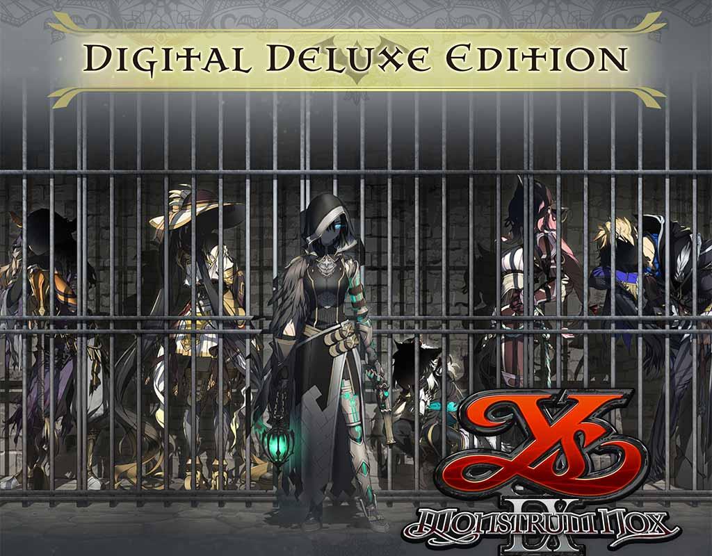 ys ix: monstrum nox digital deluxe