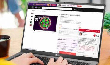 LG implementa asistentes virtuales para brindar soporte personalizado y realizar compras más efectivas