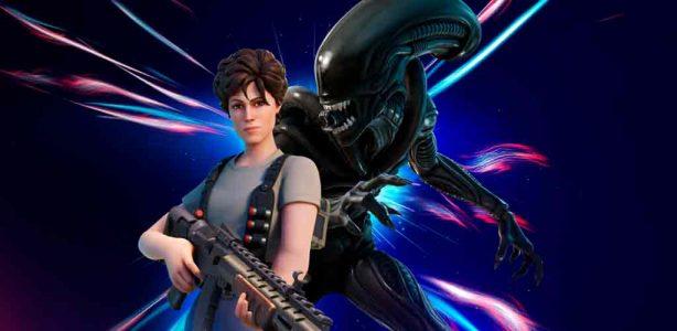 El Xenomorfo y Ripley de Alien se unen a la caza en Fortnite