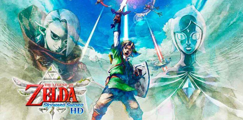 The Legend of Zelda: Skyward Sword HD tendría soporte para Amiibo