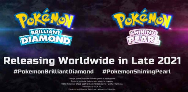 Se anuncia oficialmente Pokémon Brilliant Diamond y Shining Pearl