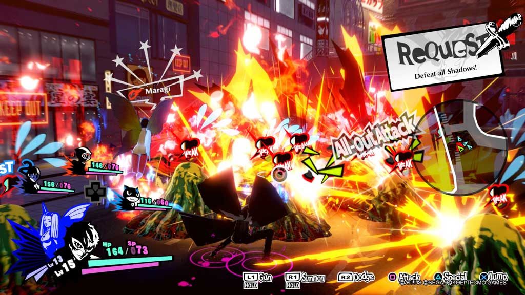 persona 5 strikers review 005