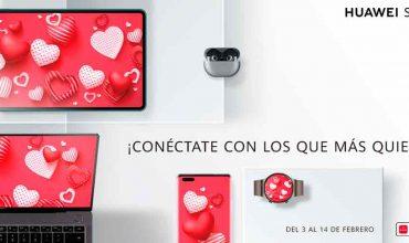 Huawei abrió su tienda virtual con ofertas exclusivas por San Valentín