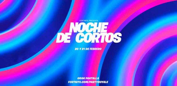 """Fortnite estrena Festival de Cine """"Noche de Cortos"""" en Fiesta Campal"""