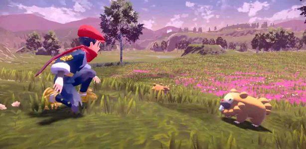 Pokémon Legends Arceus será un nuevo juego de mundo abierto