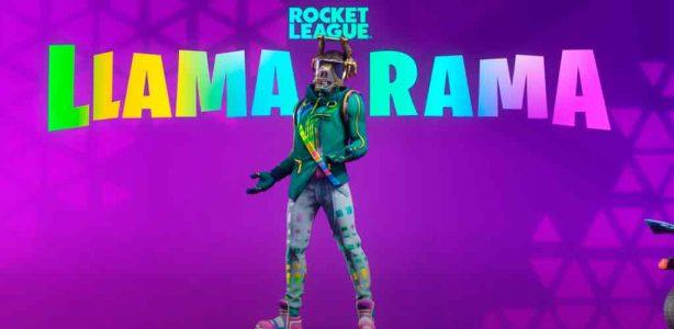 Rocket League y Fortnite anuncian Llama-Rama como celebración