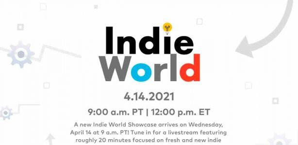 Nintendo presentará un Indie World stream el día de mañana