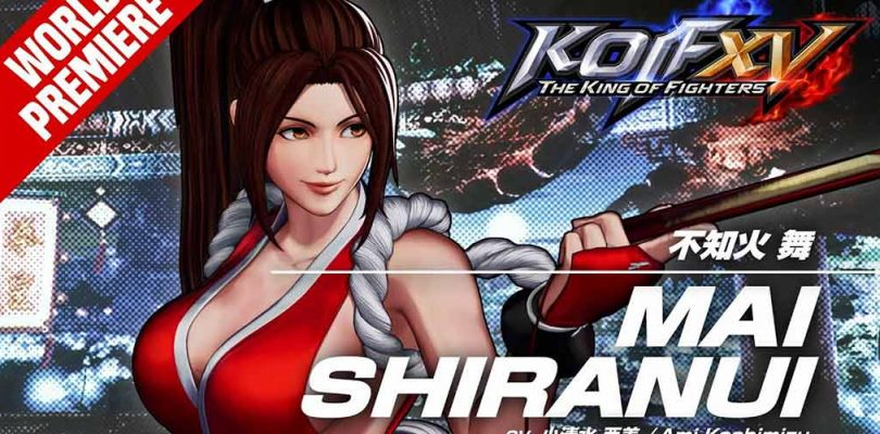 kof xv: the king of fighters xv mai shiranui
