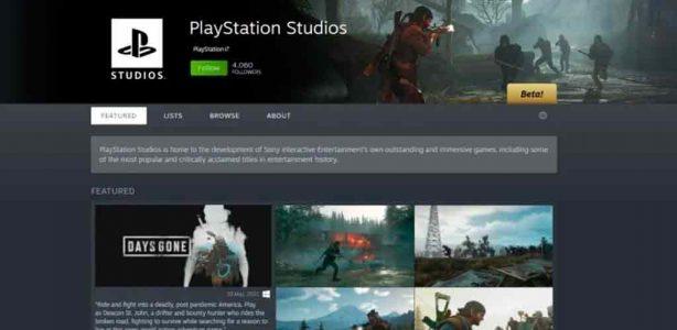 Página de Steam de PlayStation está en marcha e insinúas más juegos en PC