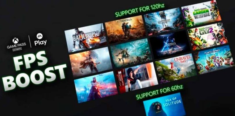 Xbox anuncia gran actualización de su FPS Boost con 74 juegos
