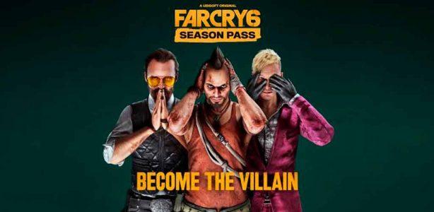 El Season Pass de Far Cry 6 trae de vuelta a los mejores antagonistas