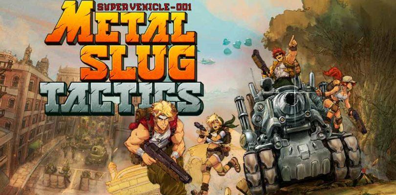 Se anuncia Metal Slug Tactics que reúne de vuelta a Marco, Eri, Fio y Tarma