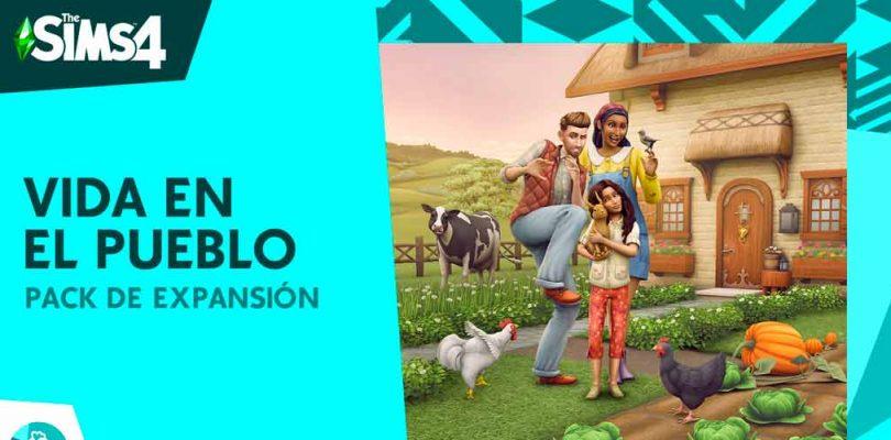 Deleitate con el encanto del campo con los Sims 4 Vida en el Pueblo