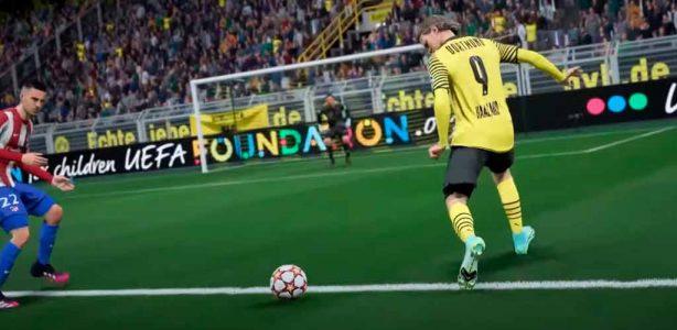 Gameplay de FIFA 22 muestra el HyperMotion en acción