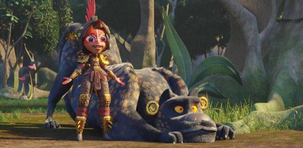 Maya y los Tres, está inspirada en las culturas Inca, Maya y Azteca