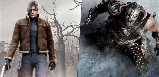 Skyrim le ha robado su puesto a Resident Evil 4