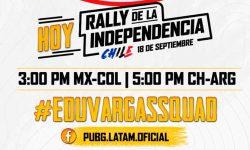 PUBG MOBILE invita a reconocidos futbolistas a celebrar las fiestas patrias de México y Chile
