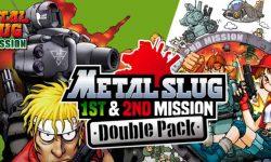 METAL SLUG 1st & 2nd MISSION Double Pack disponible en Nintendo Switch