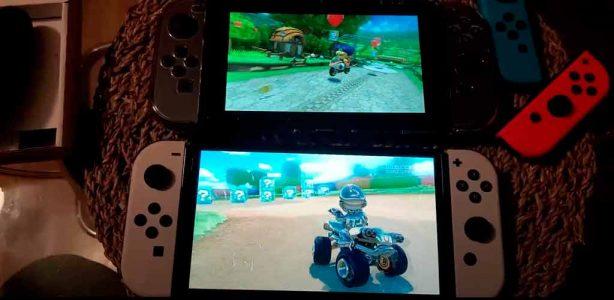 Llega el primer video comparativo de la Nintendo Switch OLED